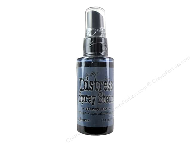 Tim Holtz by Ranger Distress Stain Spray 1.9 oz. Stormy Sky