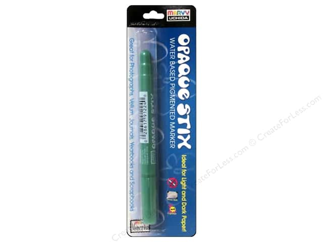 Uchida Opaque Stix Marker Metallic Green