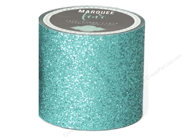 Heidi Swapp Marquee Love Glitter Tape 2 in. Teal