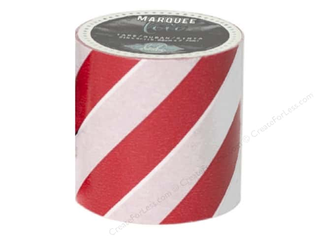 Heidi Swapp Marquee Love Washi Tape 2 in. Stripe Red