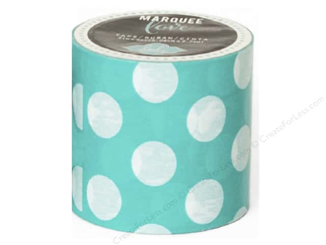 Heidi Swapp Marquee Love Washi Tape 2 in. Polka Dot Mint