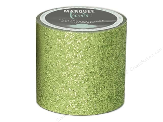 Heidi Swapp Marquee Love Glitter Tape 2 in. Lime Green