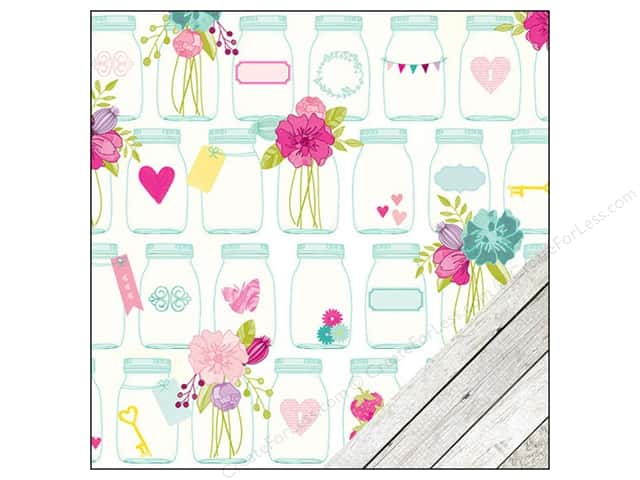 American Crafts 12 x 12 in. Paper Dear Lizzy Serendipity With Love (25 sheets)