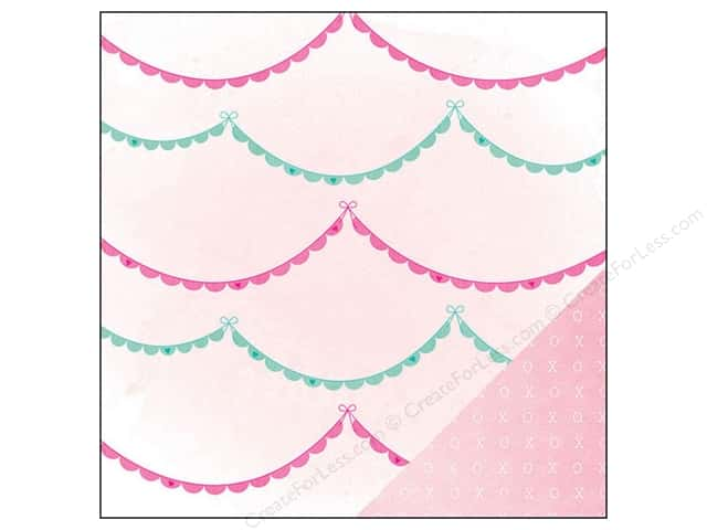 American Crafts 12 x 12 in. Paper Dear Lizzy Serendipity Ooh La La (25 sheets)