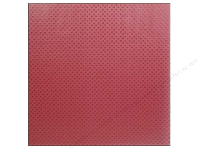 Doodlebug 12 x 12 in. Paper Lovebugs Vellum Sprinkles Red Heart (25 sheets)