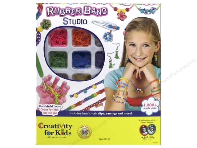 FaberCastell Creativity For Kids Rubber Band Studio