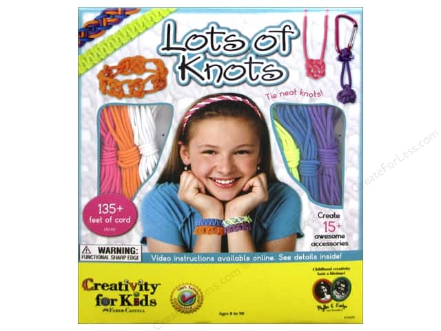 FaberCastell Creativity For Kids Lots Of Knots