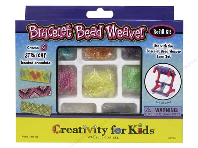 FaberCastell Creativity For Kids Bead Weaver Refill