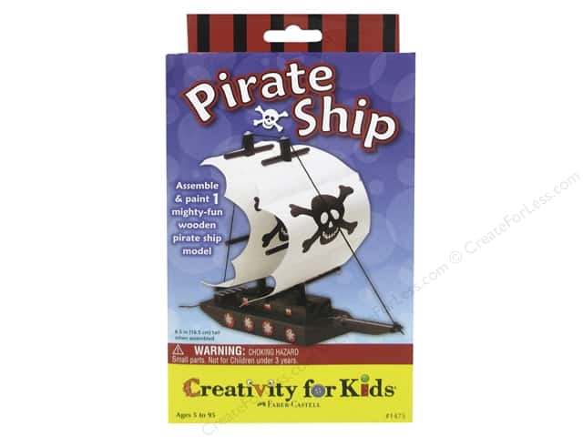 FaberCastell Creativity For Kids Pirate Ship