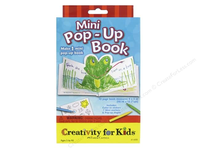 FaberCastell Creativity For Kids Mini Pop-Up Book