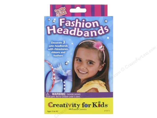 FaberCastell Creativity For Kids Fashion Headbands