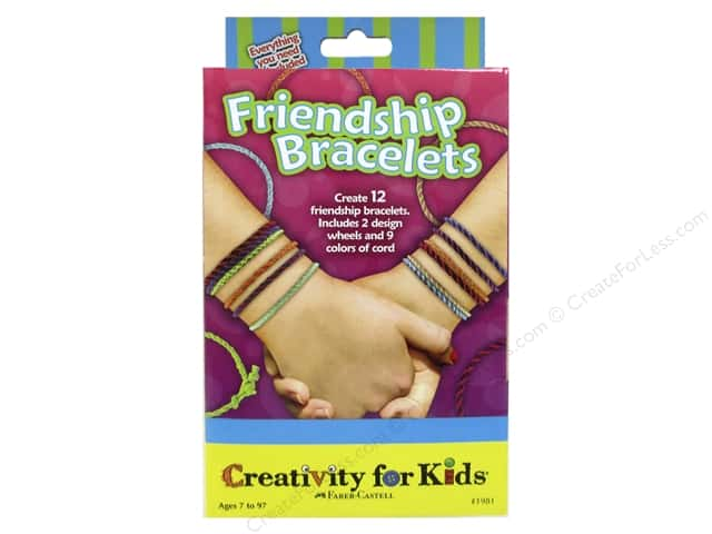 FaberCastell Creativity For Kids Friendship Bracelets