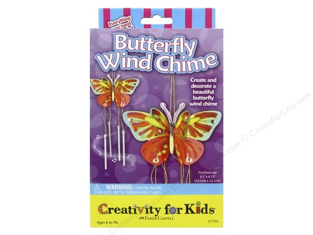 FaberCastell Creativity For Kids Butterfly Wind Chime