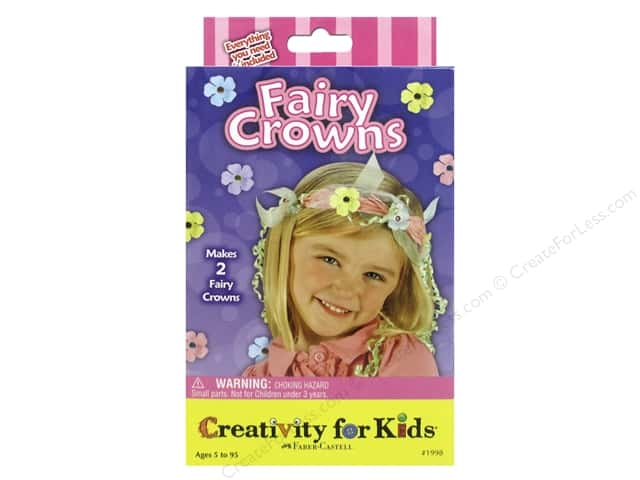 FaberCastell Creativity For Kids Fairy Crowns