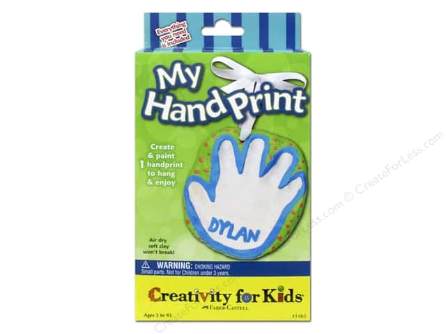 FaberCastell Creativity For Kids My Hand Print