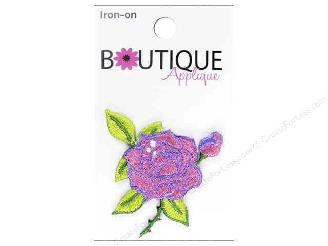 Blumenthal Boutique Applique Pink Rose