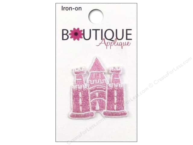 Blumenthal Boutique Applique Pink & White Castle