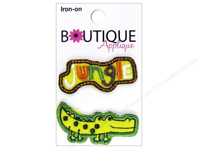 Blumenthal Boutique Applique 2 pc. Jungle & Alligator