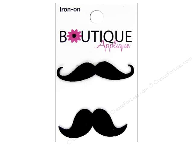 Blumenthal Boutique Applique 2 pc. Mustaches