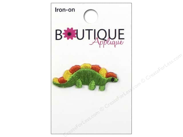 Blumenthal Boutique Applique Green Dinosaur