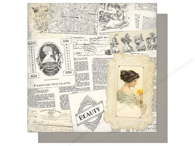 Authentique 12 x 12 in. Paper Classic Beauty Beauty One (25 sheets)