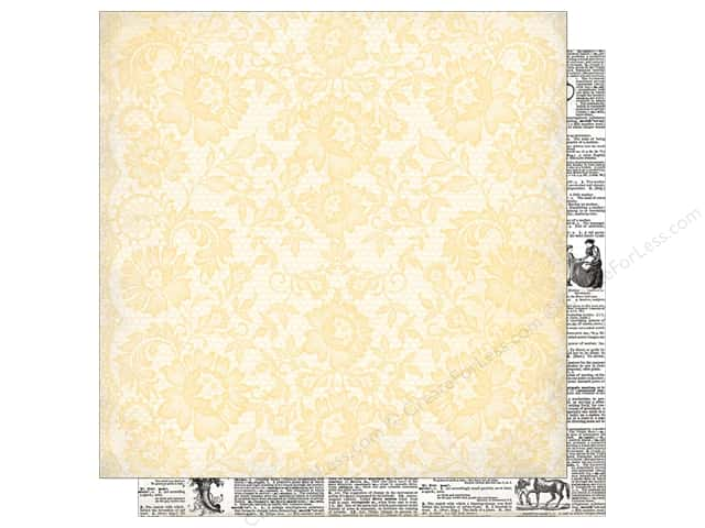 Authentique 12 x 12 in. Paper Classic Beauty Beauty Seven (25 sheets)