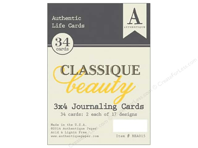 Authentique Authentic Life Cards Classic Beauty