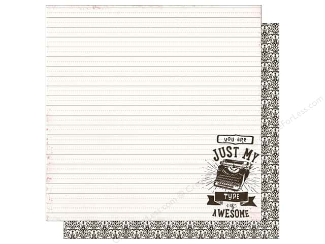 Authentique 12 x 12 in. Paper Crush Impressions (25 sheets)