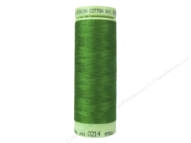 Mettler Silk Finish Cotton Thread 60 wt. 220 yd. #0214 Treetop