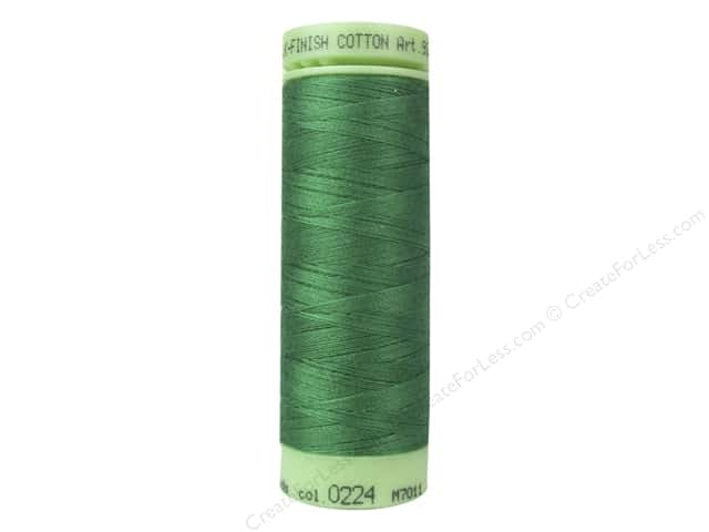 Mettler Silk Finish Cotton Thread 60 wt. 220 yd. #0224 Kelley