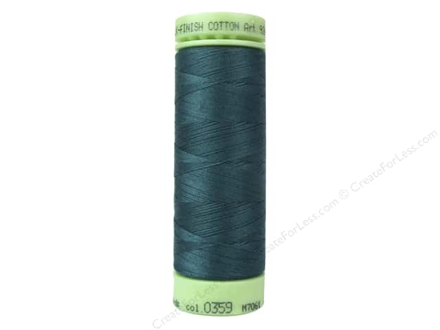 Mettler Silk Finish Cotton Thread 60 wt. 220 yd. #0359 Shaded Spruce