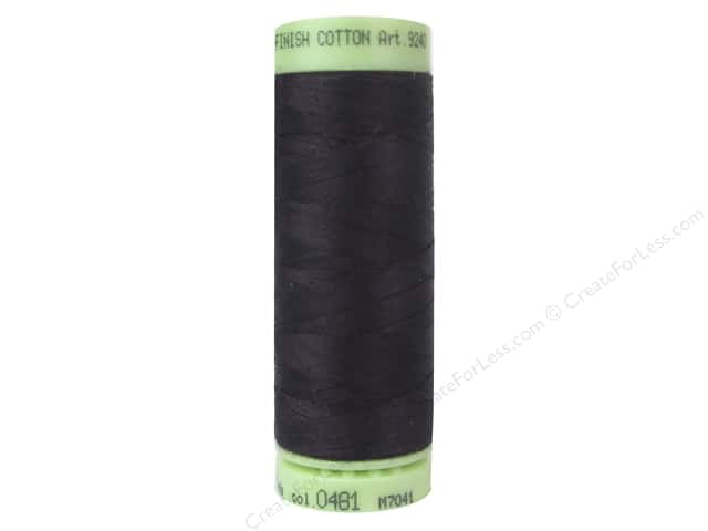 Mettler Silk Finish Cotton Thread 60 wt. 220 yd. #0481 Plum Perfect
