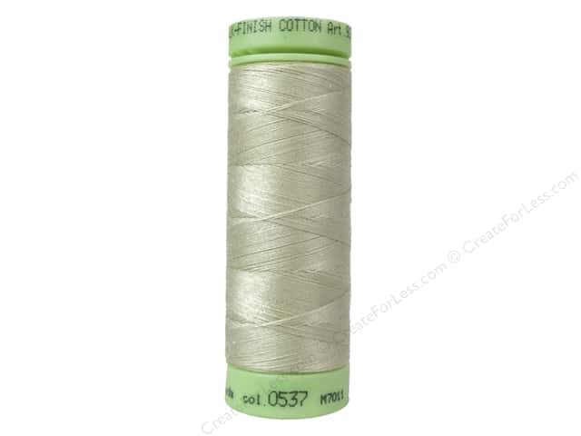 Mettler Silk Finish Cotton Thread 60 wt. 220 yd. #0537 Oat Flakes