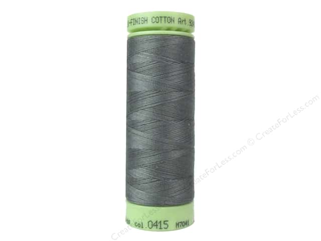 Mettler Silk Finish Cotton Thread 60 wt. 220 yd. #0415 Old Tin