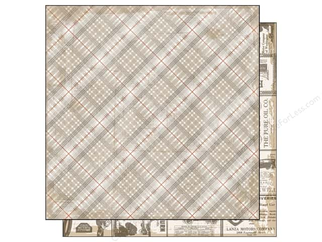 Authentique 12 x 12 in. Paper Durable Superior (25 sheets)