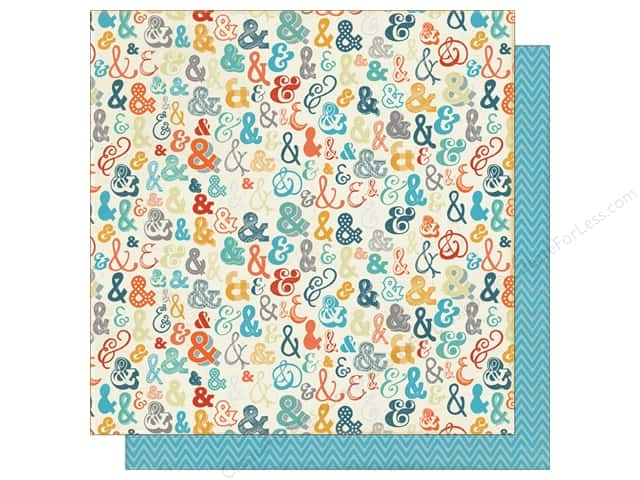 Authentique 12 x 12 in. Paper Playful Accompany (25 sheets)