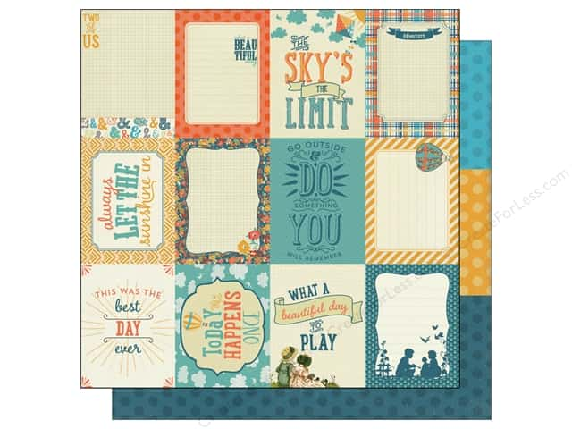 Authentique 12 x 12 in. Paper Playful Enhancements (25 sheets)