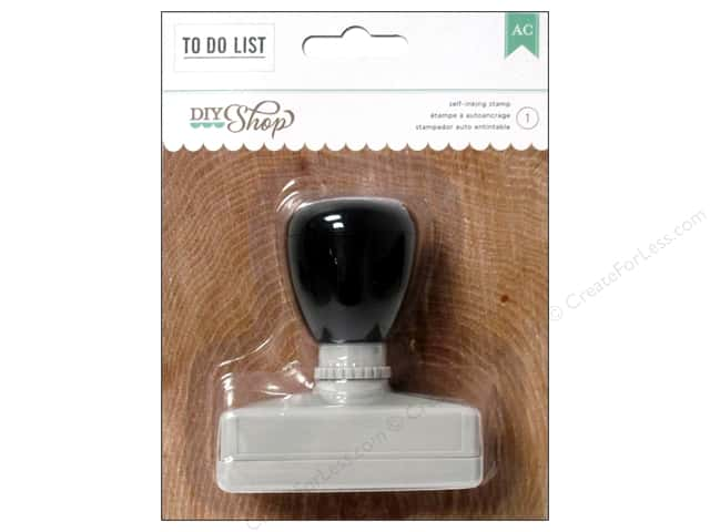 American Crafts Self Inking Stamp DIY Shop 2 To Do List