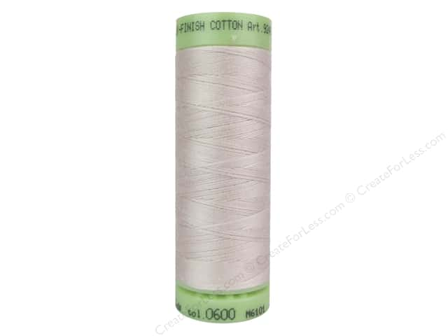 Mettler Silk Finish Cotton Thread 60 wt. 220 yd. #0600 Flesh