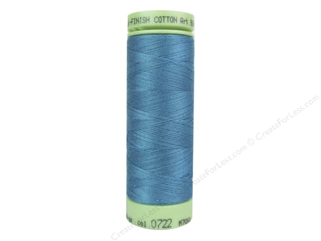 Mettler Silk Finish Cotton Thread 60 wt. 220 yd. #0722 Glacier Blue