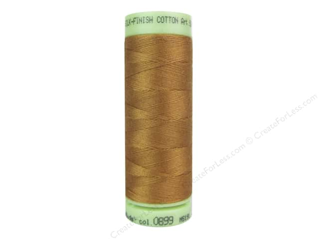Mettler Silk Finish Cotton Thread 60 wt. 220 yd. #0899 Bronze