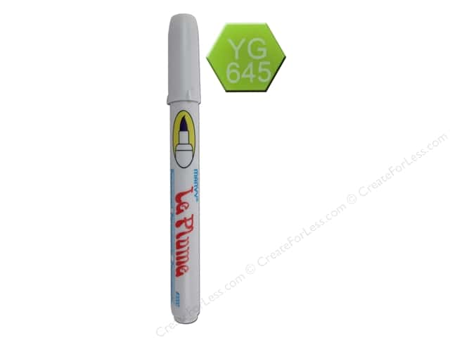 Uchida Le Plume Permanent Marker Moss Green