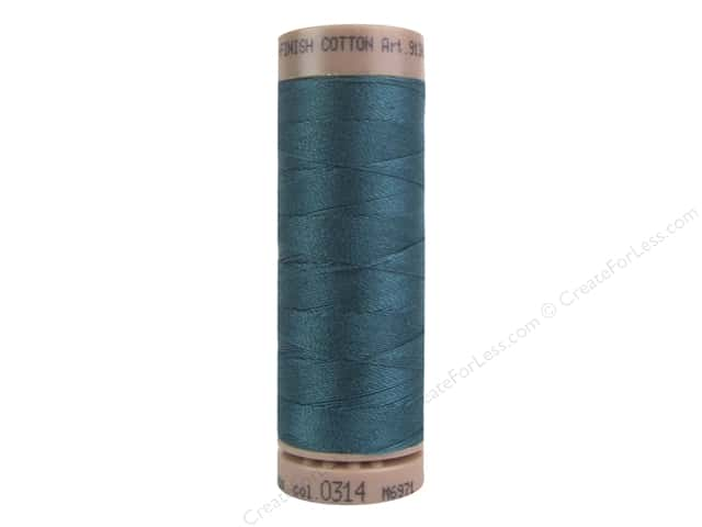 Mettler Silk Finish Cotton Thread 40 wt. 164 yd. #0314 Spruce
