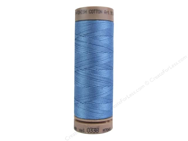 Mettler Silk Finish Cotton Thread 40 wt. 164 yd. #0338 Reef Blue