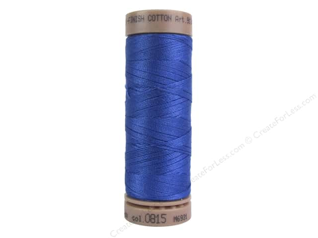 Mettler Silk Finish Cotton Thread 40 wt. 164 yd. #0815 Cobalt Blue