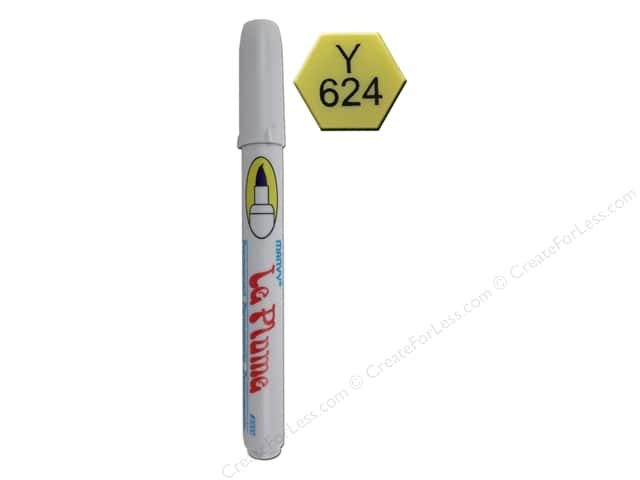 Uchida Le Plume Permanent Marker Brilliant Yellow
