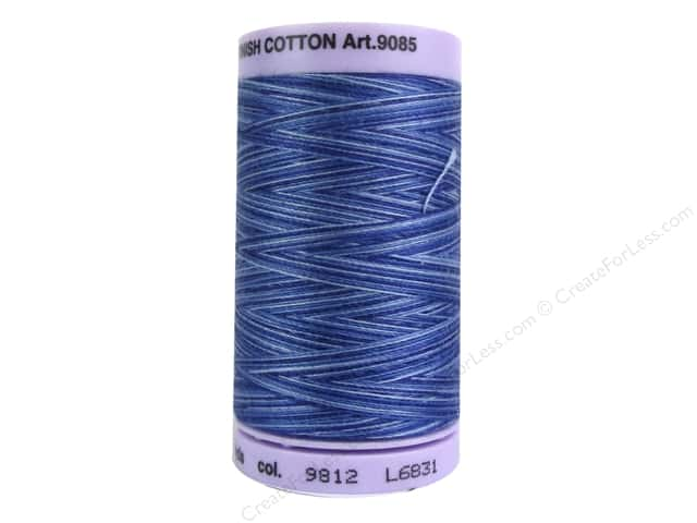 Mettler Silk Finish Cotton Thread 50 wt. 500 yd. #9812 Evening Blue