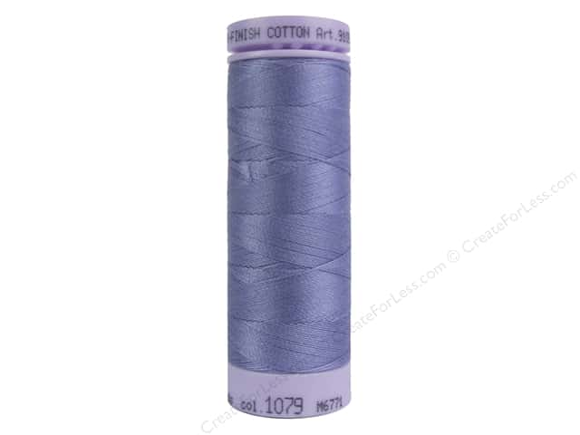 Mettler Silk Finish Cotton Thread 50 wt. 164 yd. #1079 Amethyst