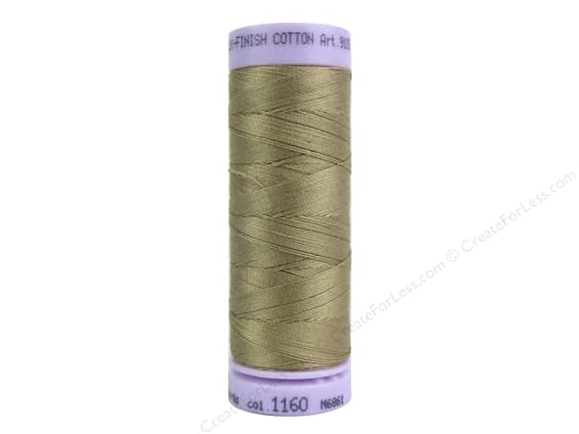 Mettler Silk Finish Cotton Thread 50 wt. 164 yd. #1160 Pimento