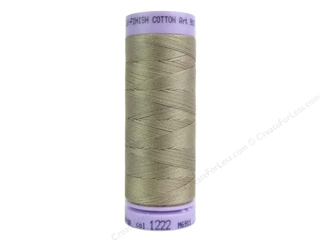 Mettler Silk Finish Cotton Thread 50 wt. 164 yd. #1222 Sandstone